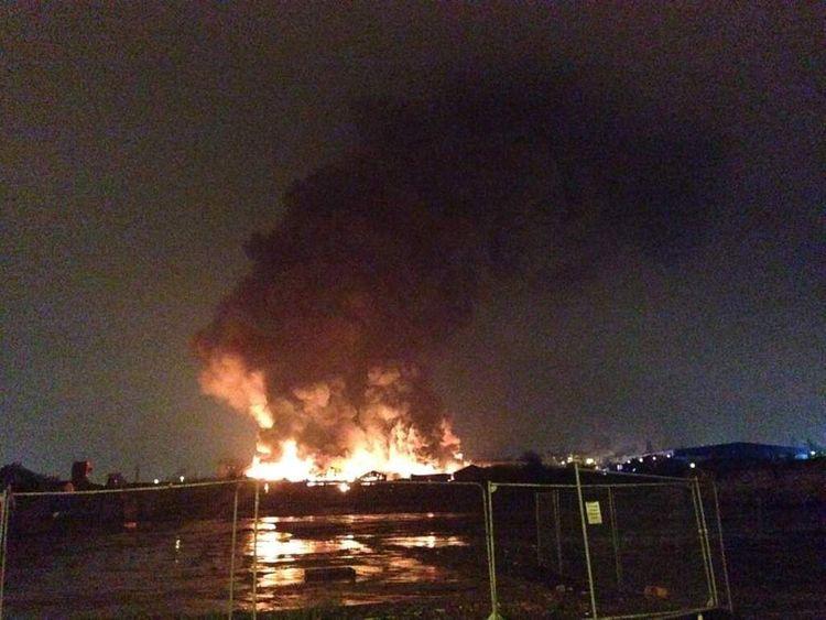 Leeds fire