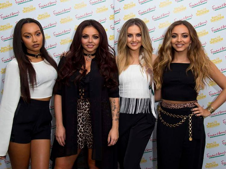 Little Mix: Perrie Edwards, Jesy Nelson, Leigh-Anne Pinnock, Jade Thirlwall