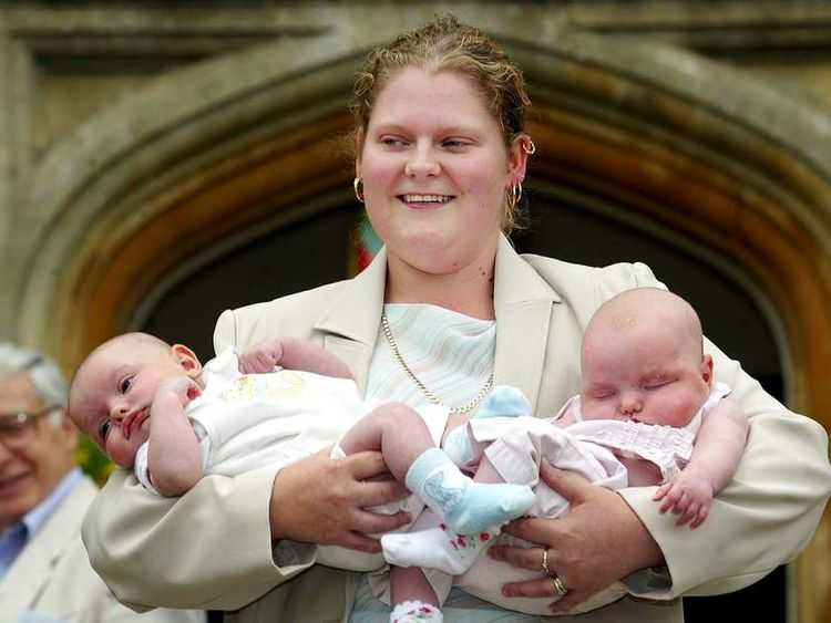 Louise Brown, at the 25th anniversary of IVF success, in 2003