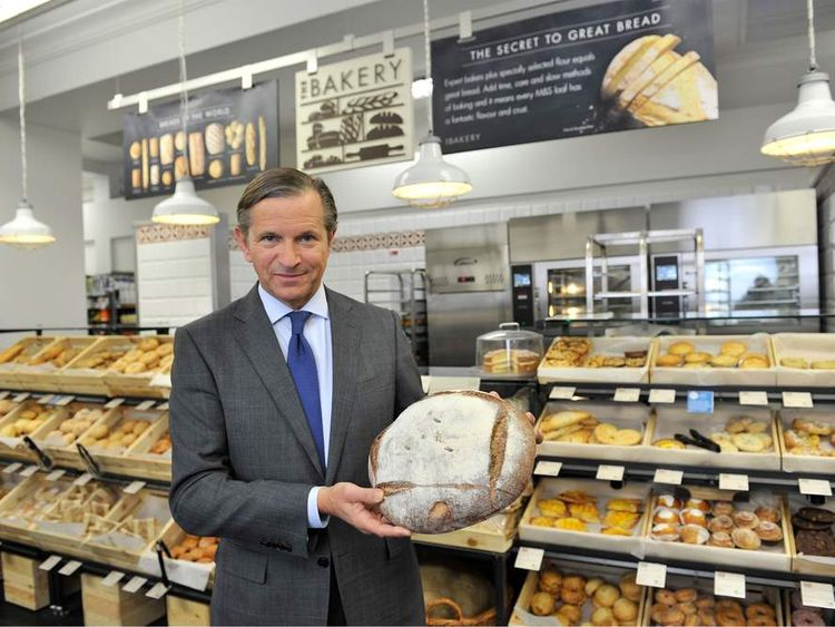 Marc Bolland chairman of Marks and Spencer