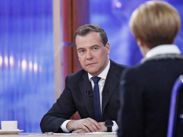 RUSSIA-GOVERNMENT-POLITICS-MEDVEDEV