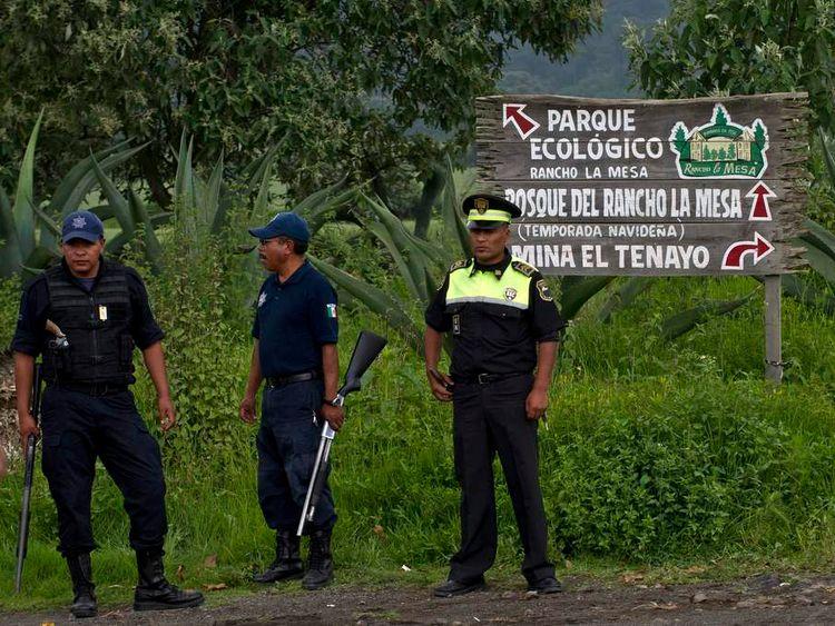 Mexico mass grave