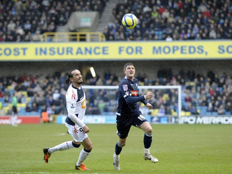 Millwall v Bolton February 2012