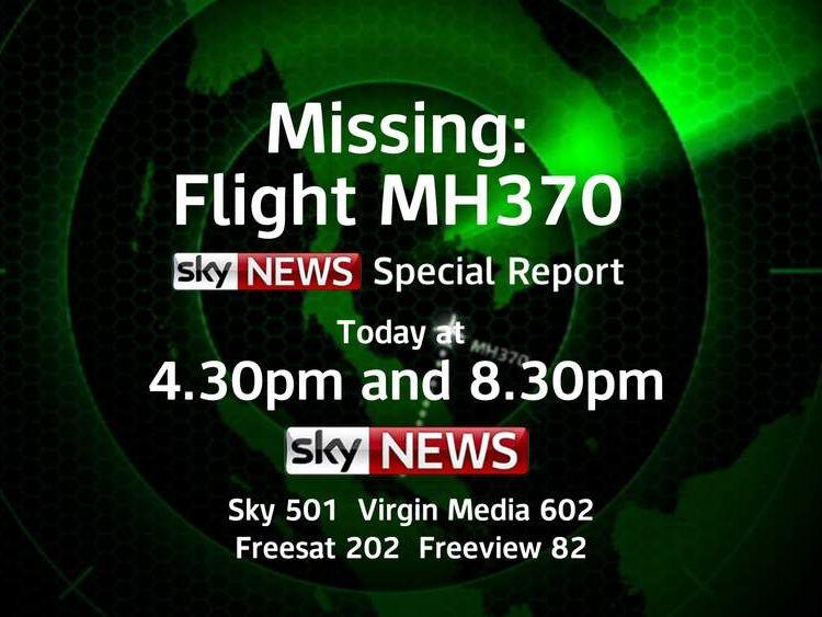 Missing Flight MH370