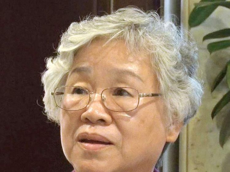 Myunghee Bae, mother of jailed U.S. missionary Kenneth Bae