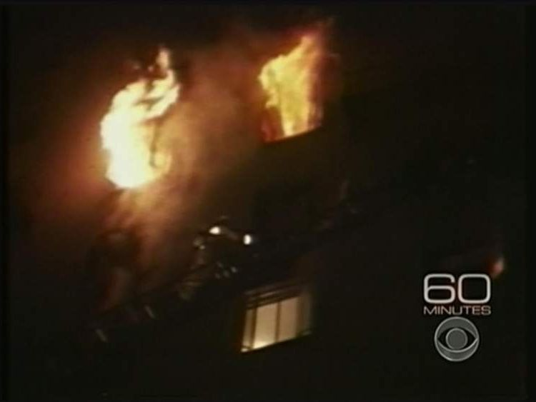 Fire at Pioneer Hotel Tucson, Arizona in 1970