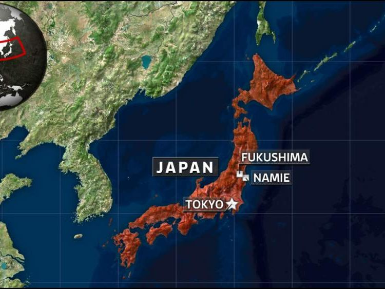 Namie and Fukushima in Japan