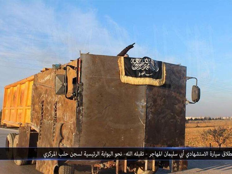 An Al Nusra truck