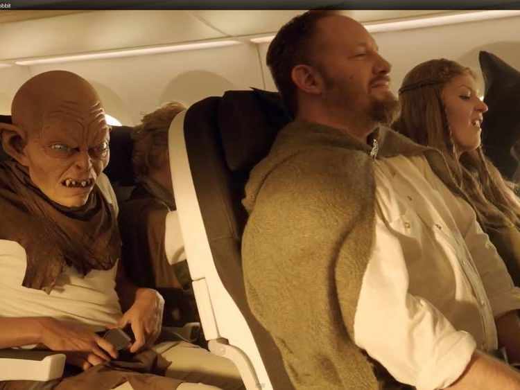 Air New Zealand Hobbit Safety Video