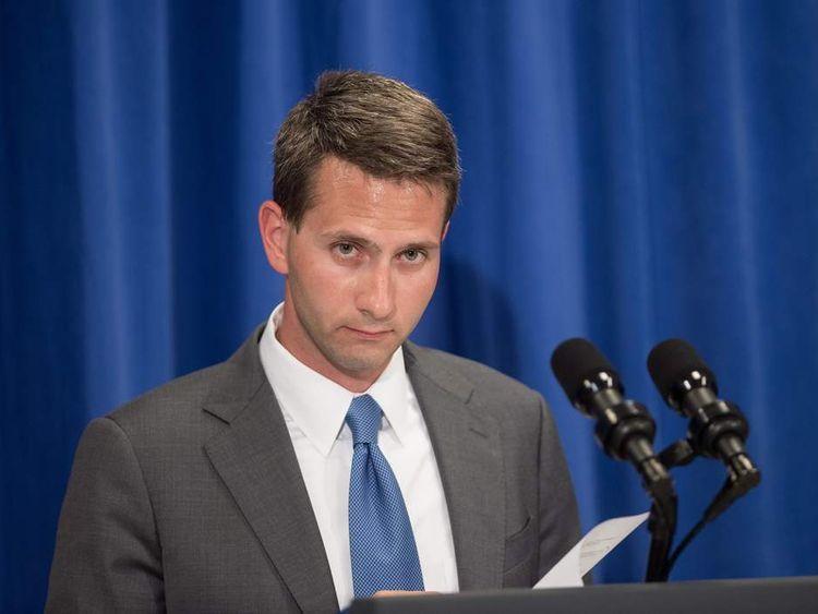 US Principal Deputy Press Secretary Eric Schultz
