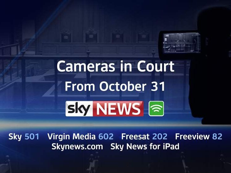 Cameras in court