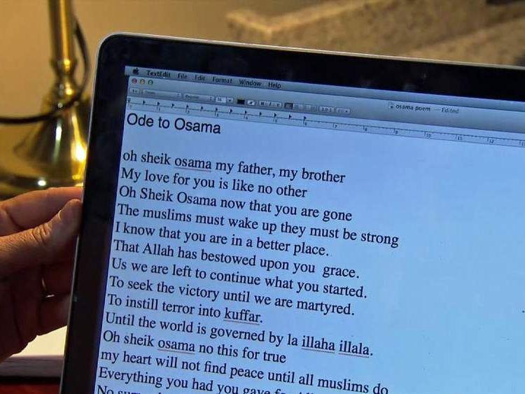 Samantha Lewthwaite bin Laden poem