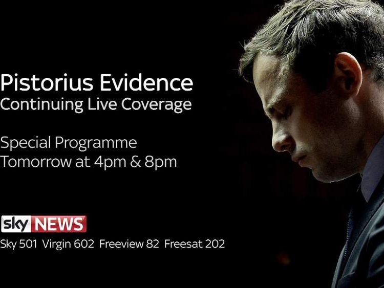 Oscar Pistorius special programme
