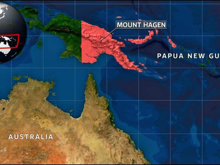 Papua New Guinea.