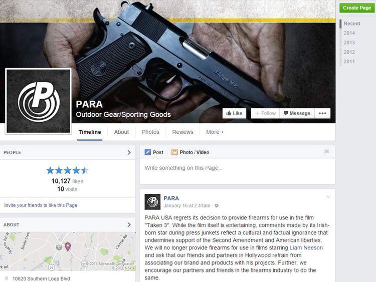 PARA USA/Facebook