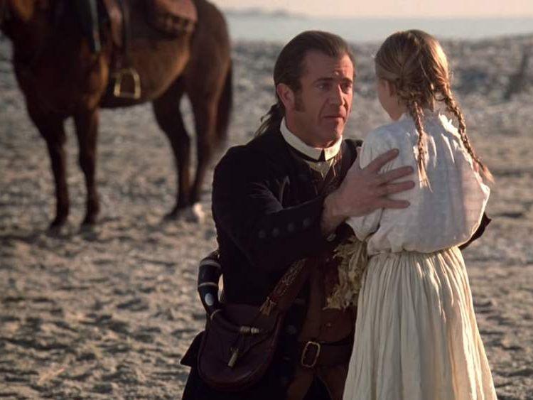 Skye McCole Bartusiak in the 2000 film The Patriot. Pic: Columbia