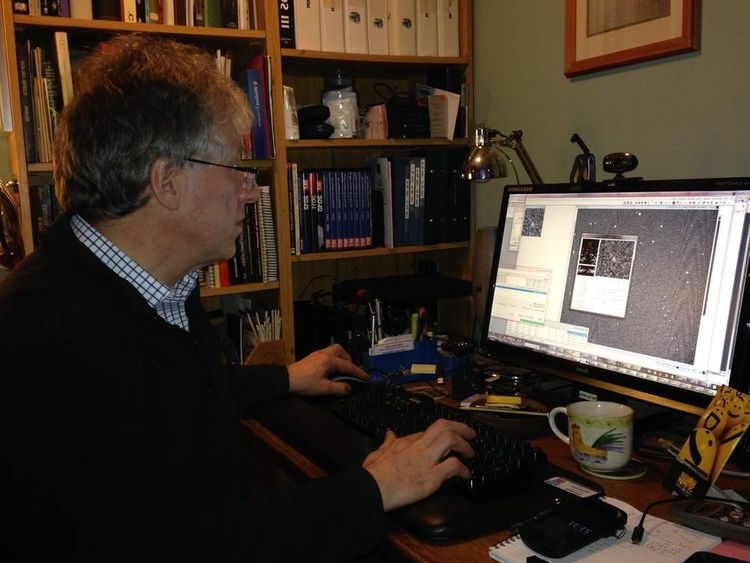 Peter Birtwhistle examines the footage of an asteroid that passed by Earth.