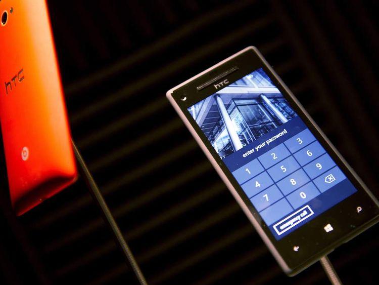 HTC 8S and HTC 8X smartphones