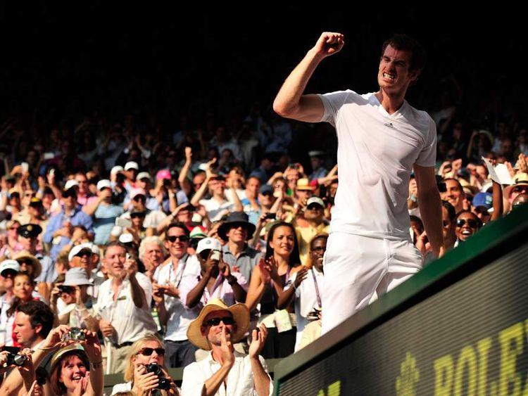 Andy Murray wins Wimbledon final