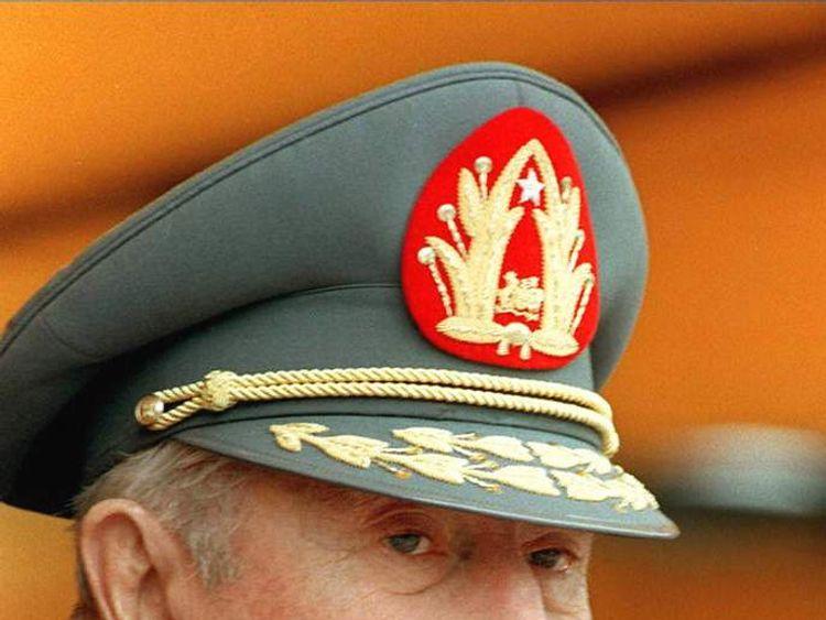 Augusto Pinochet in 1996.