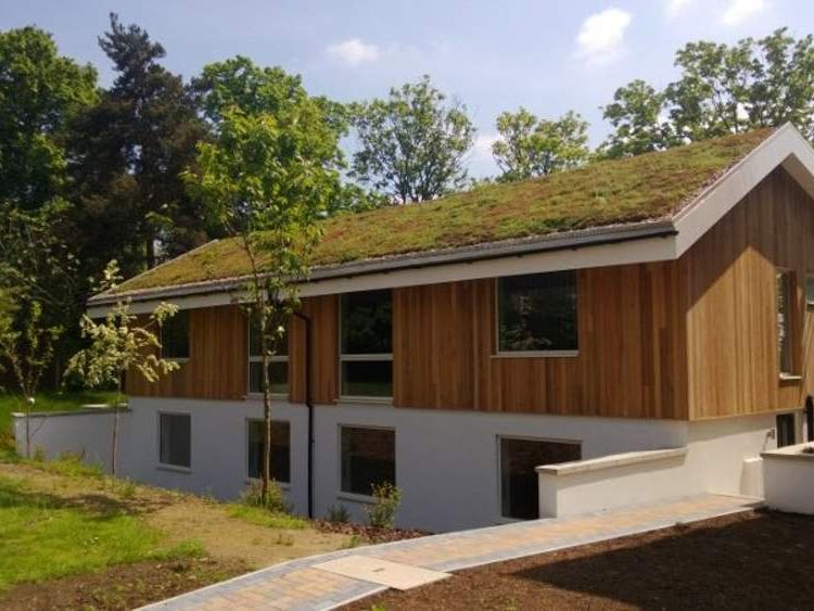 Eco Green Roof pitch roof