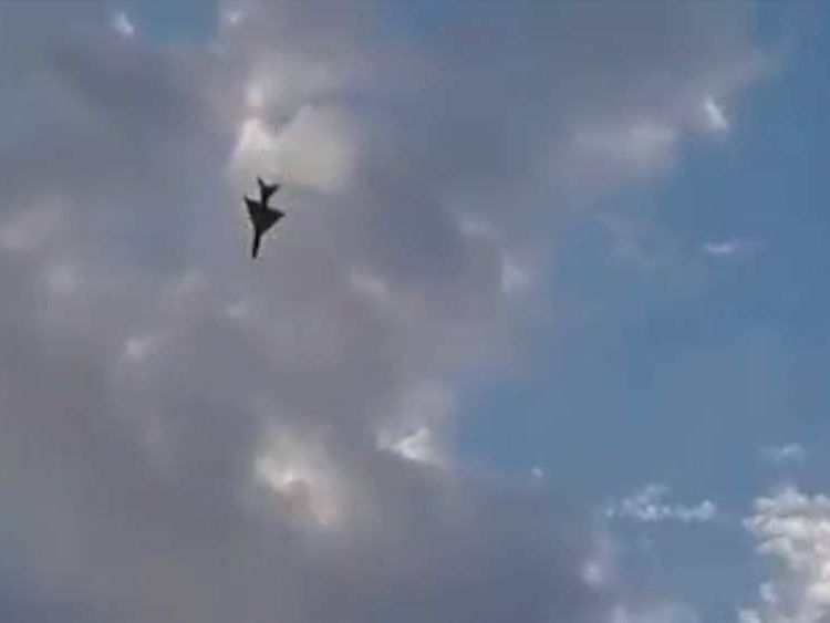 Fighter jet crashes in Tobruk