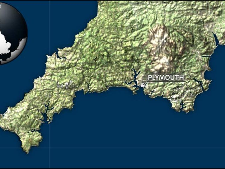 Plymouth map