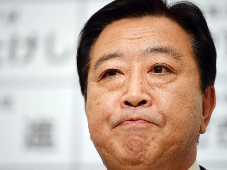 Ex-Japanese PM Yoshihiko Noda