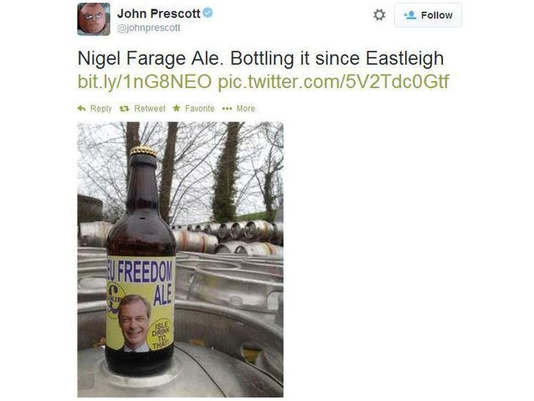 John Prescott tweet