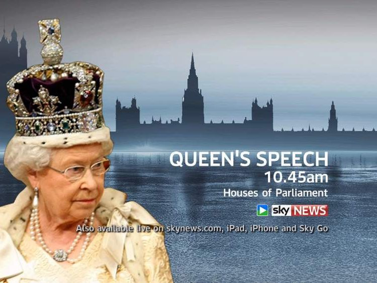 Watch the Queen's Speech live on Sky News.