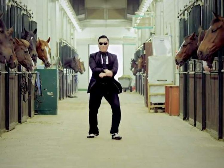 Psy's horse-riding dance has become a worldwide craze