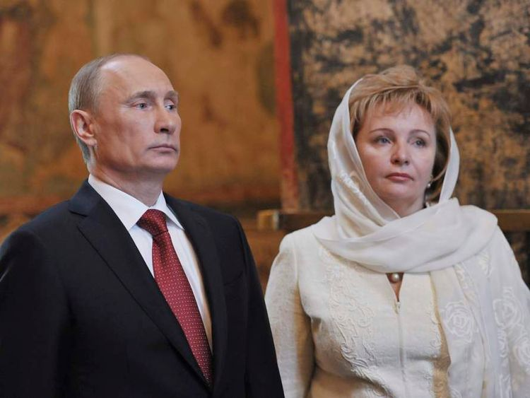 Vladimir Putin and his wife Lyudmila's last appearance on TV before their split