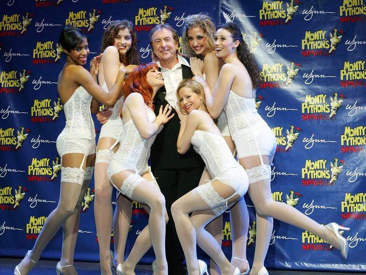 """Monty Python's Spamalot"" News Conference At Wynn Las Vegas"
