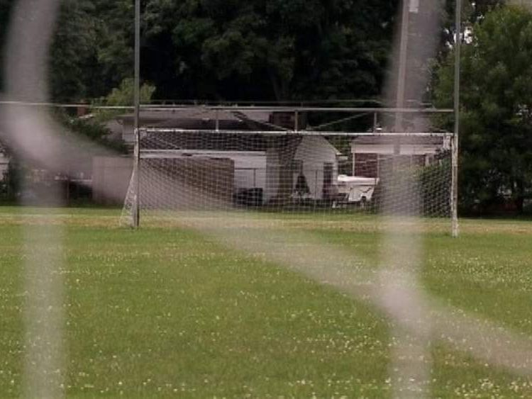 Screengrab from WJBK-TV. Soccer referee dies from sucker punch to head in Livonia, Michigan.