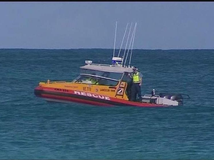 Search for missing surfer near Wedge Island, Australia