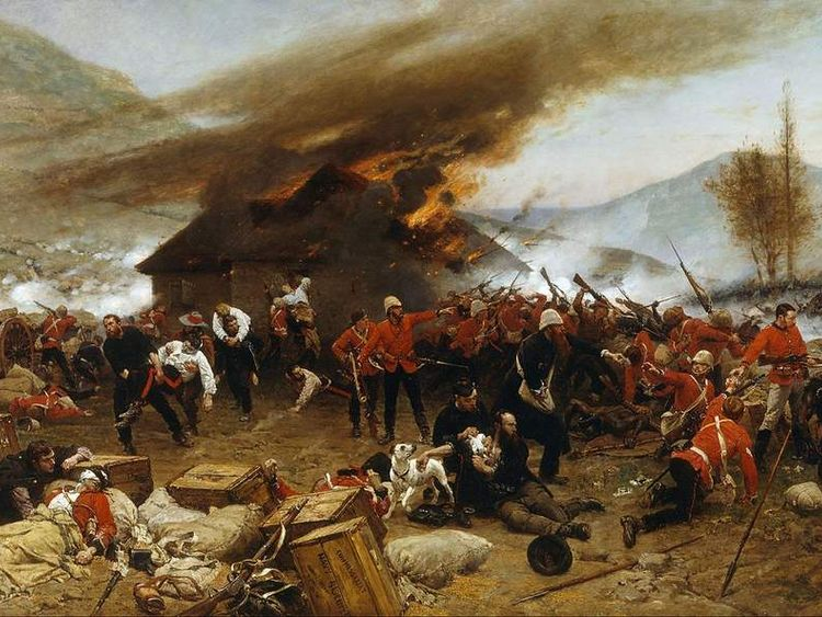 The Defence of Rorke's Drift by Alphonse de Neuville