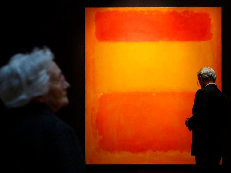 Rothko's Orange, Red, Yellow