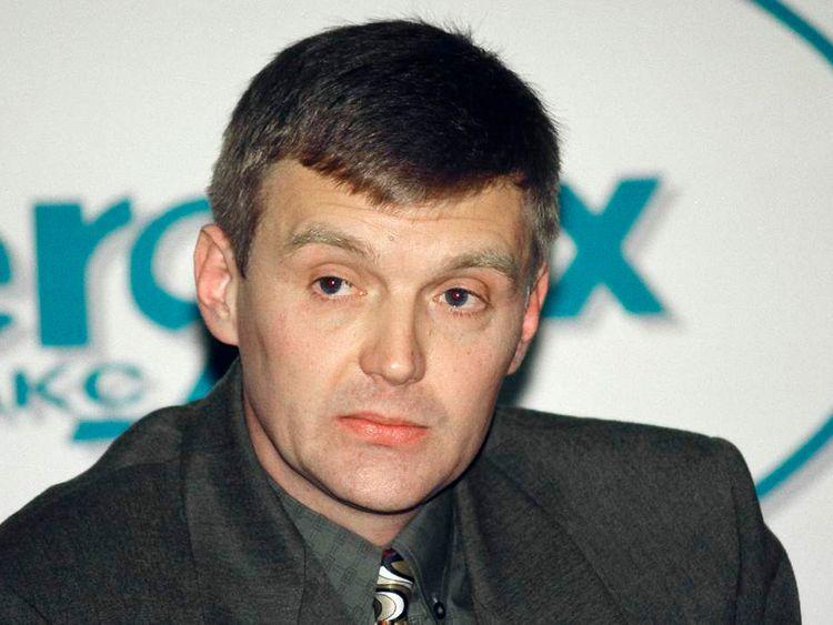 Alexander Litvinenko in 1998