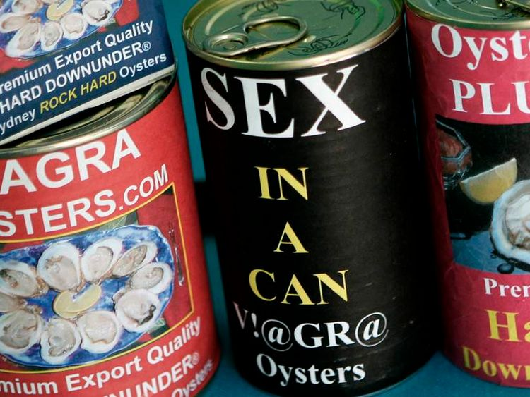 Cans of Viagra-infused oysters to be marketed to Asia on the New South Wales Central Coast