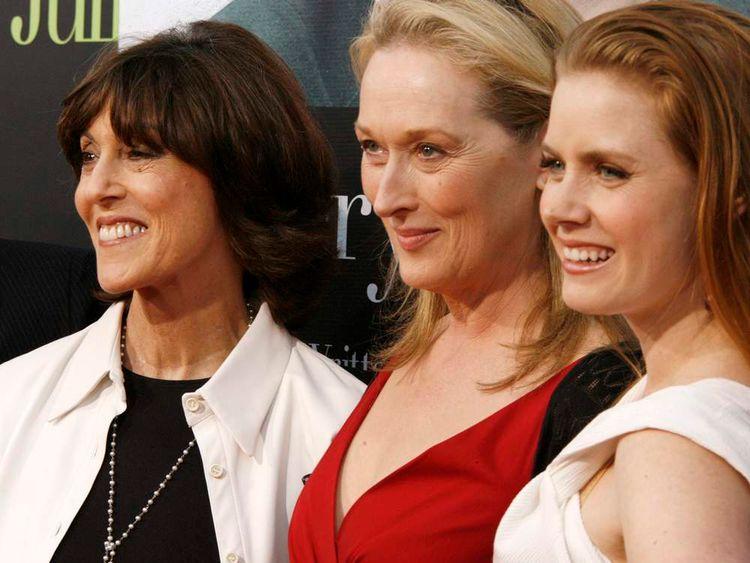 Nora Ephron Meryl Streep And Amy Adams