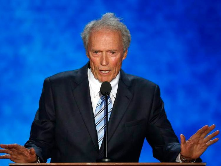 Clint Eastwood speaks at the Republican National Convention