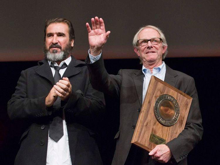 Ken Loach and Eric Cantona