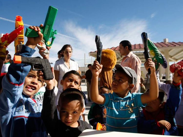 Mexico Children's Toy Gun Campaign