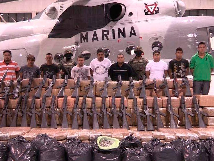 Zetas drug gang bust