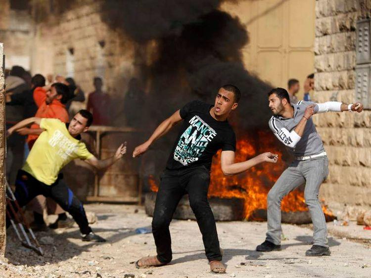 Palestinian-Israeli clashes in Jenin, West Bank