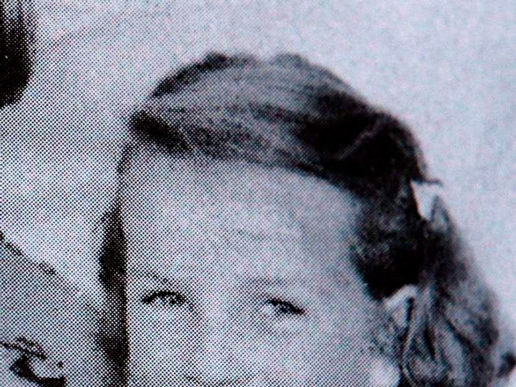 Missing schoolgirl Moira Anderson is seen in this undated school photograph taken around her 11th birthday in 1956, before her disappearance in 1957 from Coatbridge in Scotland