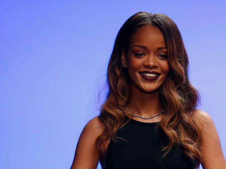 Rihanna's River Island collection debuts at London Fashion Week