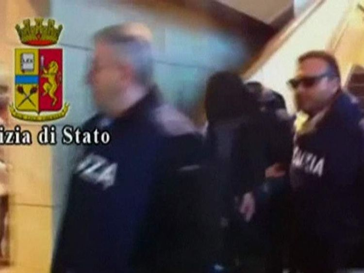 Arrest of Slovenian Admir Suljic