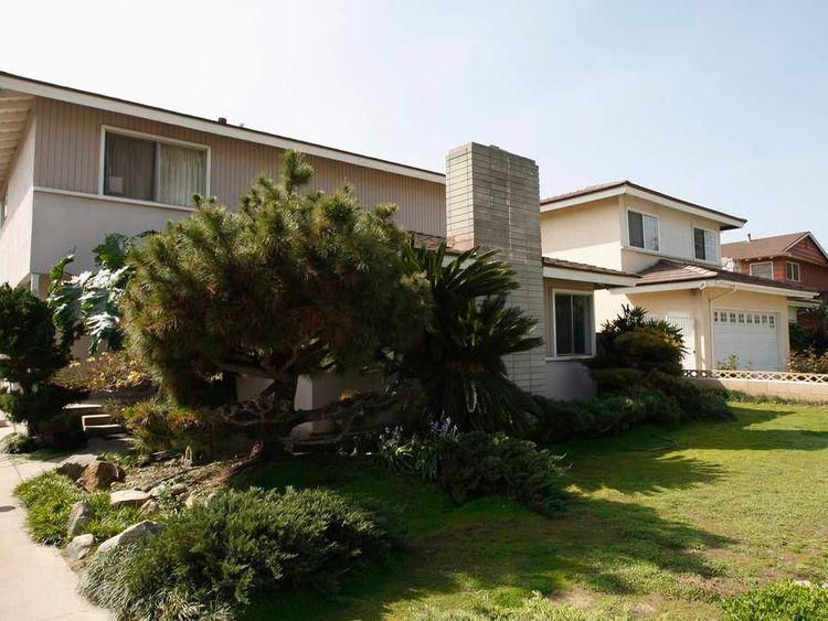 The home of the man believed to be Bitcoin currency founder Satoshi Nakamoto is seen in Temple City, California.
