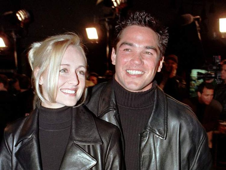 Actor Dean Cain and Mindy McCready